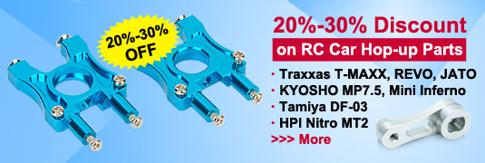 20-30% Discount on RC Car Hop-up Parts