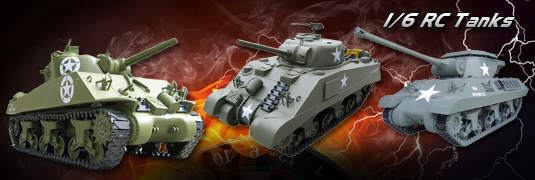 Giant 1/6 Scale RC Tanks at Incredible Price