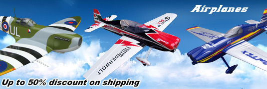50% Shipping Discount on VANTEX RC Planes