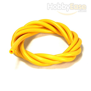 Yellow Silicone Fuel Line 100cm