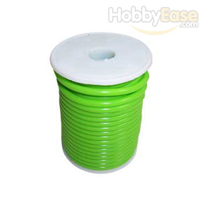 Green Silicone Fuel Line-15m