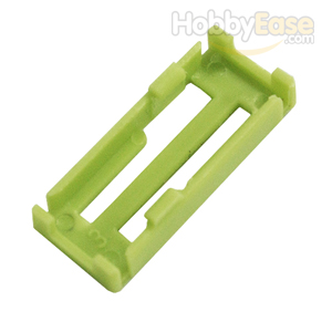 Green Servo Extension Wire Buckle
