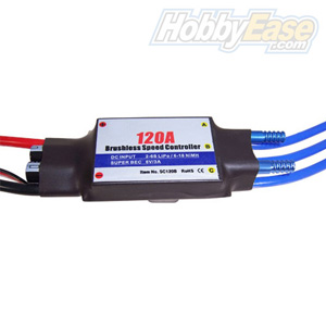 120A Water-cooled Brushless ESC for Boat