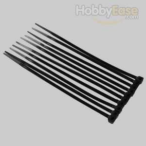 Black Nylon Cable Ties (50pcs) - 3*100mm
