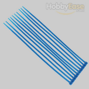 Navy Blue Nylon Cable Ties (50pcs) - 3*150mm