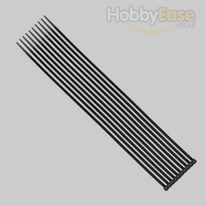 Black Nylon Cable Ties (50pcs) - 3*200mm