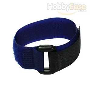 Navy Blue Hook and Loop Velcro Tie - 200mm