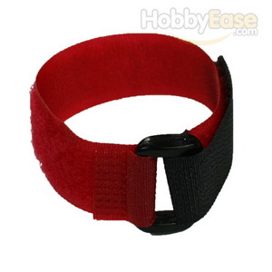 Red Hook and Loop Velcro Tie - 200mm