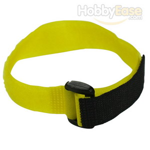 Yellow Hook and Loop Velcro Tie - 300mm