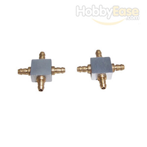 Aluminum 4-faucet Air Couplers for Retract(1Pair)