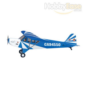 The World Models 1/3 Clipped Wing Cub, Blue/White