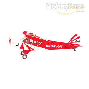 The World Models 1/3 Clipped Wing Cub, Red/White