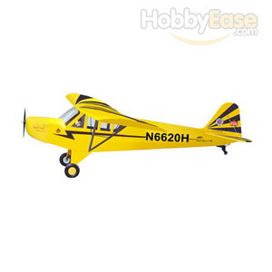 The World Models 1/3 Clipped Wing Cub, Yellow/Black