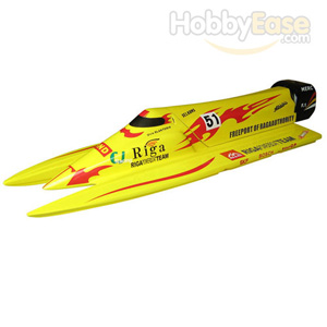 F1 Power Boat 1300GP260(Yellow)