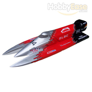 F1 Power Boat 910BP(Silver,Red,Black)