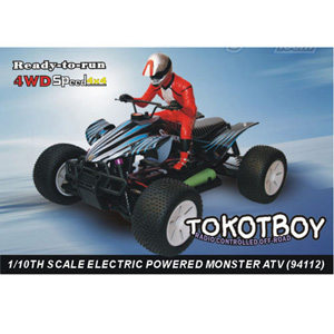HSP(HISPEED) TOKOTBOY 1/10th scale EP monster ATV