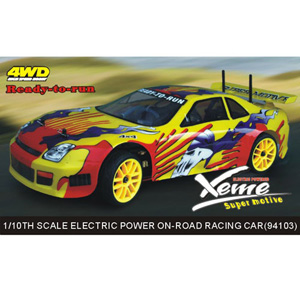 HSP(HISPEED) Xeme 1/10th scale EP on-road racing car