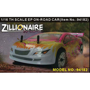 HSP(HISPEED) ZILLIONAIRE 1/16th scale EP on-road racing car