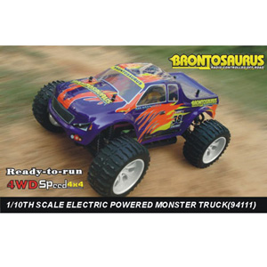 HSP(HISPEED) BRONTOSAURUS 1/10th scale EP monster truck