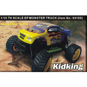 HSP(HISPEED) Kidking 1/16th scale EP monster truck