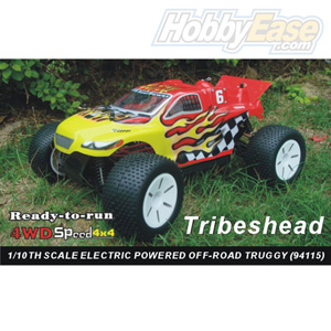 HSP(HISPEED)Tribeshead 1/10th scale EP truggy