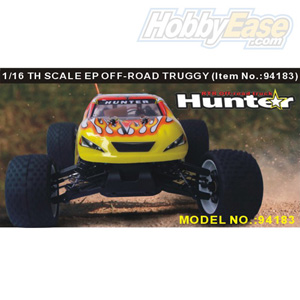 HSP(HISPEED) Hunter 1/16th scale EP off-road truggy