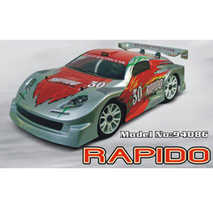 HSP(HISPEED) Rapido 1/8th scale nitro powered rally racing car