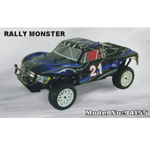 HSP(HISPEED) 1/10 Two Speed Nitro Powered Rally Monster