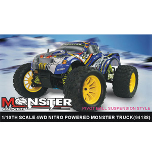 HSP(HISPEED) MONSTER 1/10th scale nitro powered monster truck