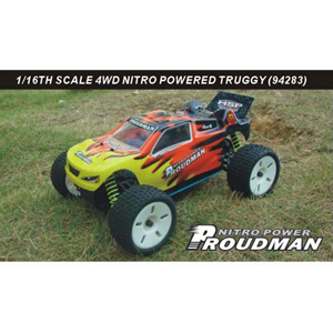 HSP(HISPEED) PROUDMAN 1/16th scale GP truggy