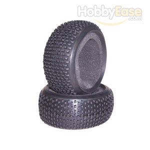 Trapezoid-Spike Tires 1 Pair