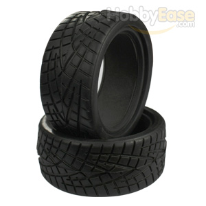 V Groove Tires 1 pair(1/10 Car)