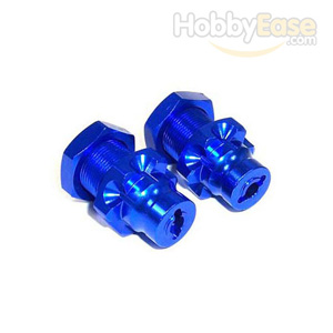 JATO 23mm Blue Aluminum Rear Drive Adaptor