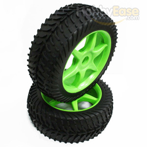 Tire and wheel rim