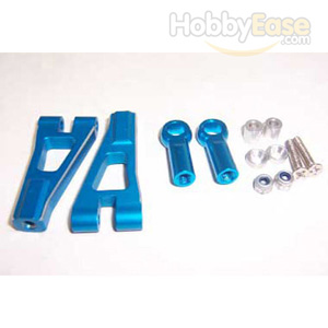 Blue Aluminum Front Upper Arms