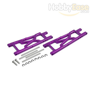 NMT2 Purple Aluminum Rear Lower Arms