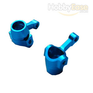 Mini Inferno Blue Aluminum Front Steering Knuckles