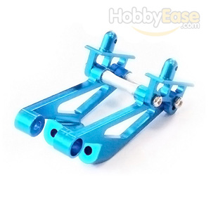 Mini Inferno Blue Aluminum Wing Mount Assembly