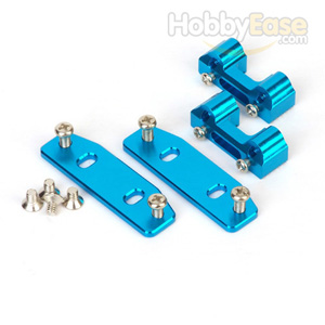 MP7.5 Blue Aluminum Adjustable Engine Mount with Heat Sink
