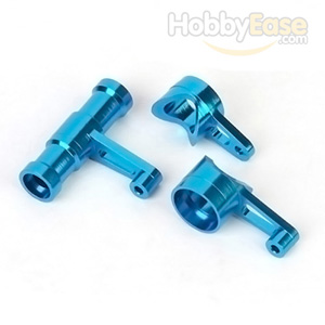 MP7.5 Blue Aluminum Steering Assembly