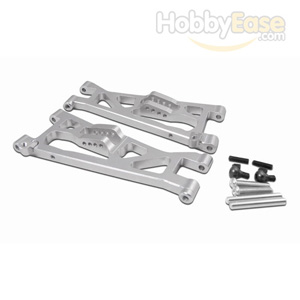 JATO Silver Aluminum Front Lower Arms