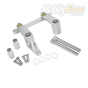 T-MAXX Silver Aluminum Steering Assembly