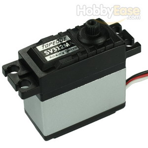 TOPEDGE Analog Metal Gear Servo w/ Heat Sink (12kg-cm / 166.67oz-in / 0.2sec)