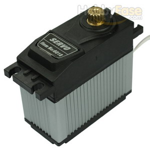 TOPEDGE Analog Metal Gear Waterproof Servo w/ Heat Sink (22kg-cm / 305.56oz-in / 0.2sec)