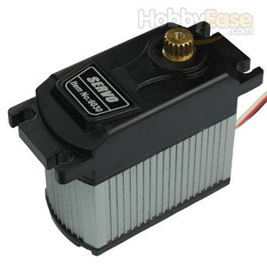 TOPEDGE Analog Metal Gear Waterproof Servo w/ Heat Sink (30kg-cm / 416.67oz-in / 0.2sec)