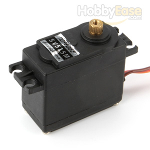 TOPEDGE Analog Metal Gear Servo (16.3kg-cm / 226.4oz-in / 0.14sec)