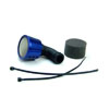Blue Aluminum 1/8 Air Filter(Taper)