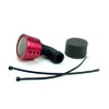Red Aluminum 1/8 Air Filter(Taper)