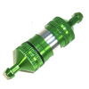 Green Aluminum 1/8 Fuel Filter