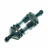 Black Aluminum 1/8 Fuel Filter